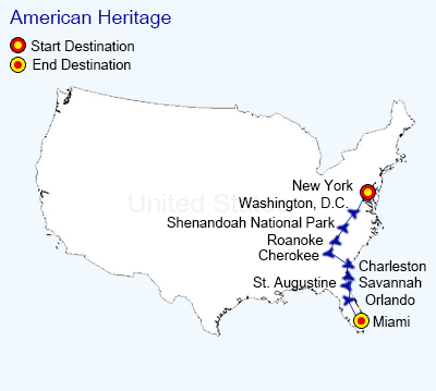 American-Heritage map